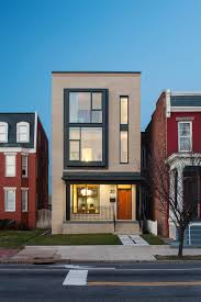 rowhou com modern row house design with amazing skylight in richmond virginia