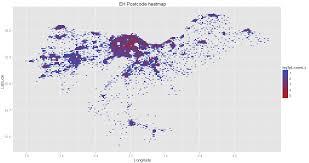 Map R Plotting Postcode Density Heatmaps In R Stevendkay U0027s Blog