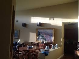 Retractable Ceiling Light High Ceiling In Dining Room Is There A Retractable Ceiling