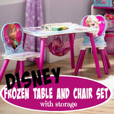 little girls table and chair set disney frozen table chair set with storage disney frozen