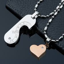 custom engraved necklaces personalized matching pendants jewelry for him and