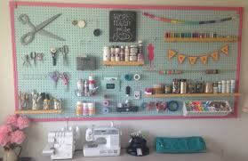 Organize A Craft Room - diy pegboard project how to organize craft supplies