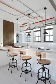 industrial breakfast bar kitchen industrial with breakfast bar