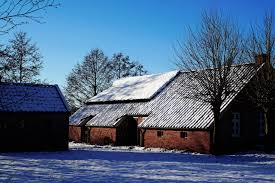 East Winter Garden Free Images Snow Winter Sky House Sunlight Roof Building