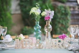 Deco Table Mariage Champetre by