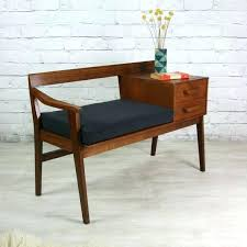 mid century entry table modern entry storage bench awesome home design ideas entry bench mid