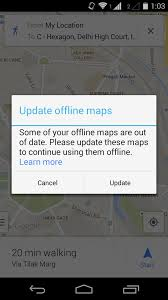 give me a map of my location psa offline maps now expire after 30 days but it will