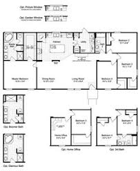 Model Home Floor Plans The Floor Plan For The Evolution Model Home By Palm Harbor