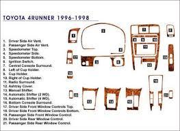 97 toyota 4runner parts 1997 toyota 4runner parts ebay
