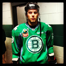 tyler seguin bruins show off green st patrick u0027s day themed