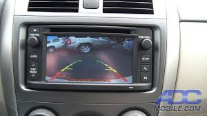 2013 toyota corolla reviews and 2013 toyota corolla tcp12cam rear camera operation youtube