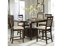 Dining Room Counter Height Tables Standard Furniture Avion 5 Piece Counter Height Table Set And