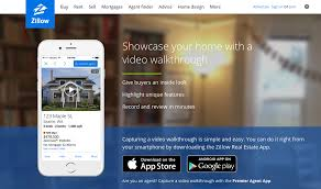 zillow app for android zillow lets sellers add a walkthrough to their home