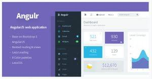 admin web template with bootstra 3 and angularjs templates bee
