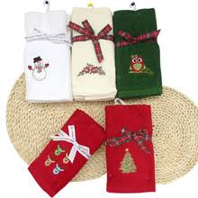 christmas towels popular embroidered christmas towels buy cheap embroidered