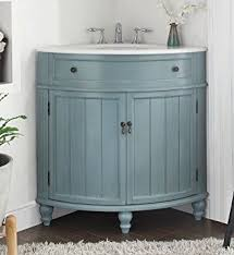 Vintage Light Blue Cottage Style Thomasville Bathroom Sink - Bathroom sink vanity