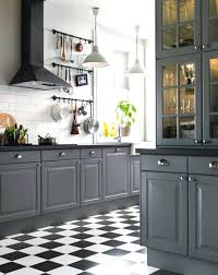 kitchen cabinets gray walls brick two tone and white colors images