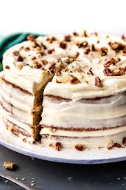 Cake Banana Cake With Brown Butter Cream Cheese Frosting Sallys