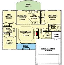 split bedroom ranch floor plans split bedroom ranch home plan 11701hz architectural designs