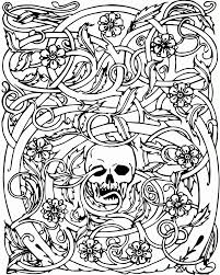 coloring book pages designs the best adult halloween coloring pages of color book inspiration