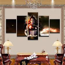 canvas decorations for home lord shiva painting superior quality canvas hd printed wall art
