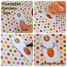 rudolph cake pops reindeer thumbprint gift tags make life lovely