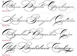 cursive tattoo lettering creator all about tattoo