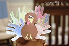 handprint turkey hat savvy sweet