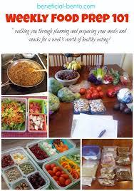 food prep meals weekly food prep 101 beneficial bento