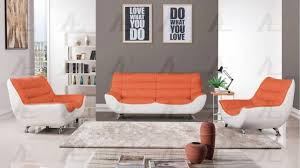 sofa loveseat and chair set american eagle furniture ae612 org w orange and white sofa loveseat
