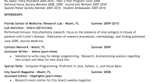 resume exles for college internships in florida beguiling sle student resume for college tags sle student