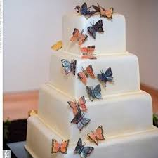 butterfly wedding cake butterly wedding cakes