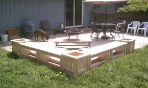 Plans For Patio Table by Benches For Patio