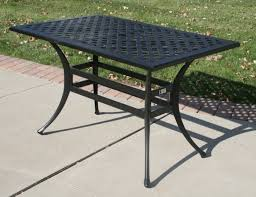 ansley luxury 4 person all welded cast aluminum patio furniture