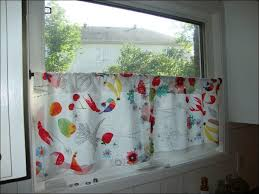 Red And White Curtains For Kitchen by Kitchen Kitchen Window Treatments Red And White Curtains