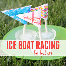 Flag Making Activity Toddler Approved Ice Boat Racing For Toddlers