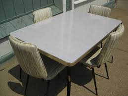 Best Formica Table And Chairs Redo Images On Pinterest - Vintage metal kitchen table