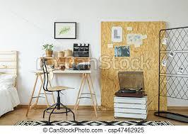 bureau en osb osb bureau salle planche salle bois lumière moderne photo