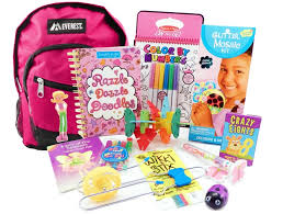 the pack for 6 to 9 year old girls is a child sized backpack