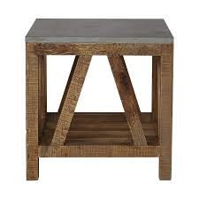 martini side table end tables side tables arhaus furniture