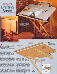 Drafting Table Vinyl Fold Drafting Table Plans Table Plans Woodworking And Woods
