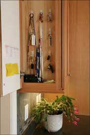 kitchen cabinet ends a hidden panel at the end of the wall cabinets conceals the