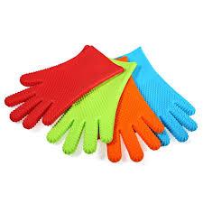 gant cuisine silicone de haute qualité résistant à la chaleur silicone grill gants cuisine