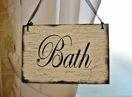 home decor gifts for mom bath wood sign bathroom decor shabbyvintageantiqued home