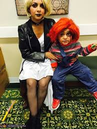 Chucky Bride Halloween Costumes Bride Chucky Family Halloween Costume Idea