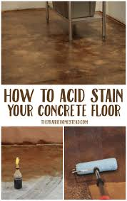 kitchen floor ideas pinterest best 25 stained concrete ideas on pinterest acid stained