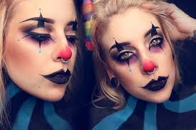 creepy clown makeup tutorial youtube