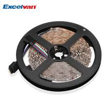 excelvan 16 4ft 5m flexible strip smd5050 300leds color changing