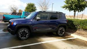 jeep trailhawk blue jetset blue picture thread jeep renegade forum