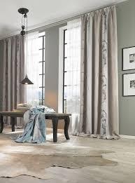 Schlafzimmer Richtig Abdunkeln Vorhangstoff Im Braunen Aquarell Design Ein Moderner Deko Coup
